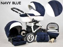White Lux multifunkciós babakocsi - navy blue