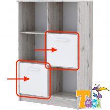 Bee – ajtó a nyitott polcos szekrényhez (2 db/csomag)